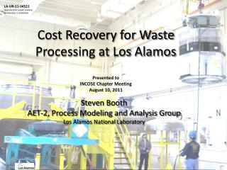Cost Recovery for Waste Processing at Los Alamos