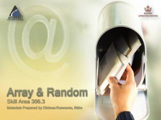 Array & Random
