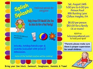 Splish Splash!!