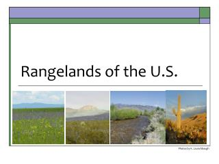 Rangelands of the U.S.