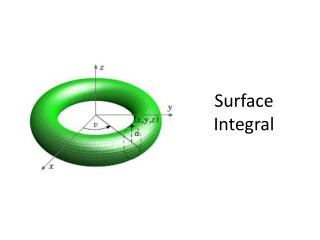 Surface Integral