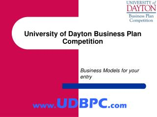 University of Dayton Business Plan Competition
