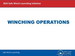 Winching Operations