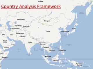 Country Analysis Framework