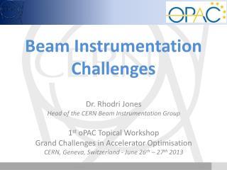 Beam  I nstrumentation Challenges