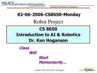 02-06-2006-CS8650-Monday