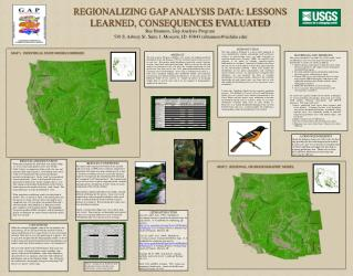 REGIONALIZING GAP ANALYSIS DATA: LESSONS LEARNED, CONSEQUENCES EVALUATED