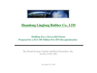 Shandong Linglong Rubber Co., LTD Building For a Successful Future