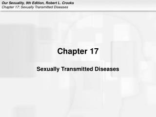 Chapter 17 Sexually Transmitted Diseases