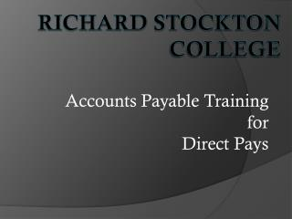 Richard Stockton College