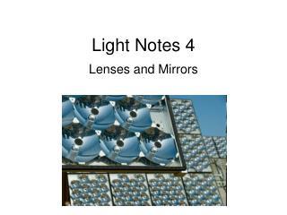 Light Notes 4