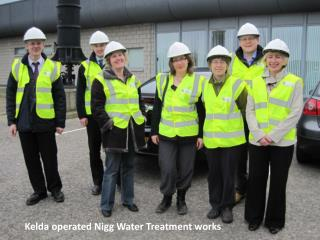 Kelda operated  Nigg  Water Treatment works