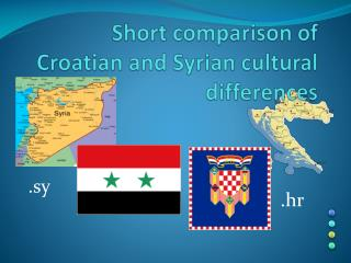 Short comparison of Croatian and Syrian cultural differences