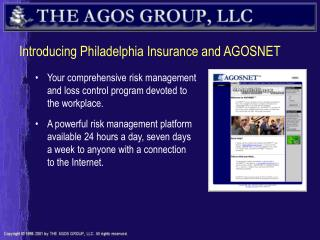 Introducing Philadelphia Insurance and AGOSNET
