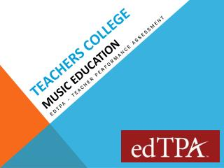 Teachers College Music Education