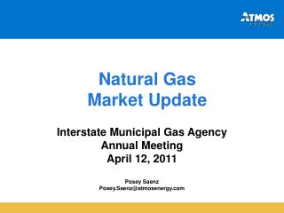 Natural Gas Market Update