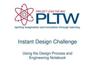 Instant Design Challenge