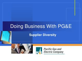 Doing Business With PGE
