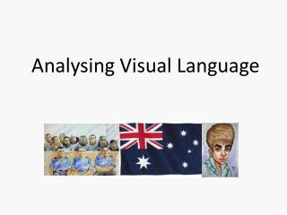 Analysing Visual Language