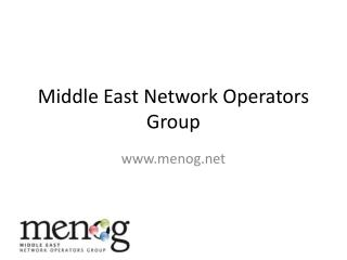Middle East Network Operators Group