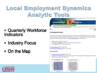 Local Employment  Dynamics Analytic Tools