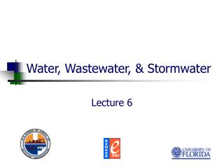 Water, Wastewater, & Stormwater