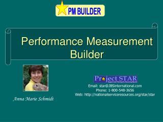 Performance Measurement Builder