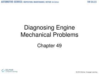Diagnosing Engine Mechanical Problems