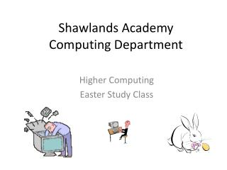Shawlands Academy Computing Department