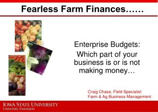 Fearless Farm Finances……
