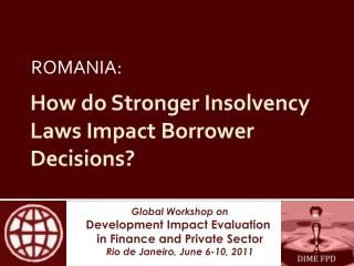 How do Stronger Insolvency Laws Impact Borrower Decisions?