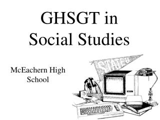 GHSGT in  Social Studies