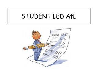 STUDENT LED AfL
