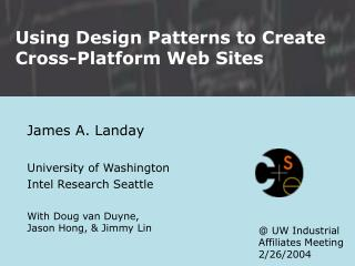 Using Design Patterns to Create Cross-Platform Web Sites