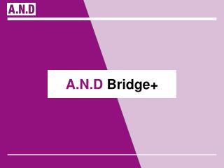 A.N.D  Bridge+