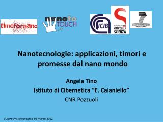 Nanotecnologie: applicazioni, timori e  promesse dal nano mondo