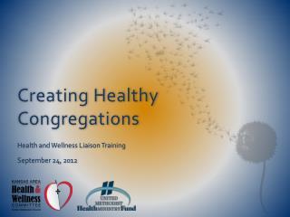 Creating Healthy Congregations