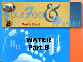 WATER Part B