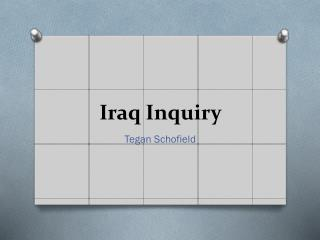 Iraq Inquiry
