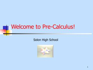 Welcome to Pre-Calculus!