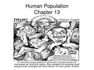 Human Population Chapter 13