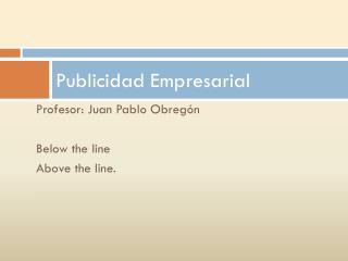 Publicidad Empresarial