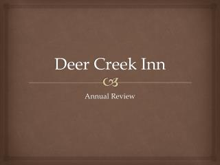 Deer Creek Inn