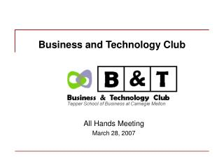 Business and Technology Club