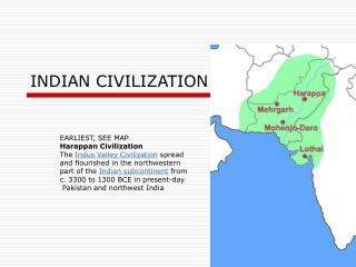 INDIAN CIVILIZATION