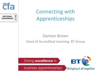 Connecting with Apprenticeships
