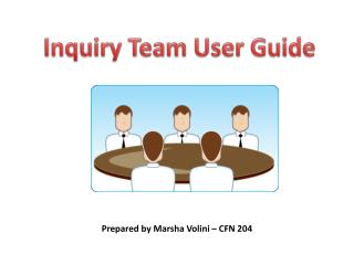 Inquiry Team User Guide