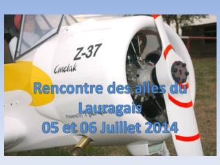 Rencontre des ailes du Lauragais 0 5  et  06 Juillet 2014
