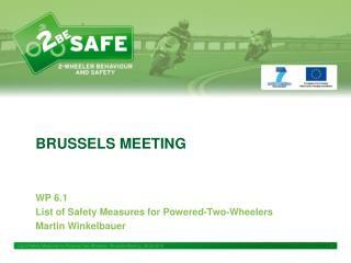 BRUSSELS MEETING