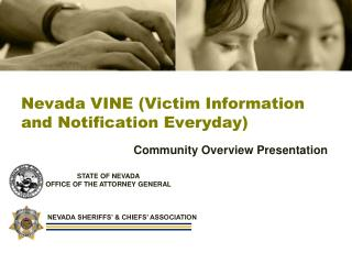 Nevada VINE (Victim Information and Notification Everyday)